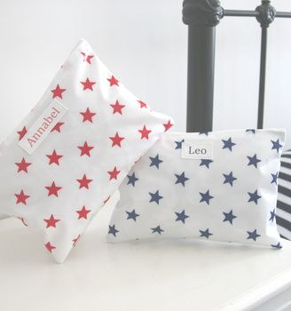 Star Personalised Overnight Washbag
