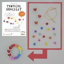 Make Your Own Tropical Bracelet Kit