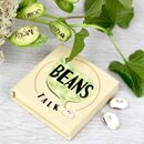 Personalised Message Beans Gift Set