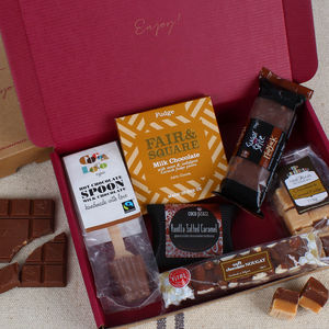 The Chocoholic's Letterbox Gift Hamper - teas, coffees & infusions