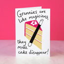 Funny Birthday Card For Granny