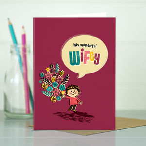 Wife 'Wonderful Wifey' Card
