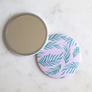 Tropical Pocket Mirror