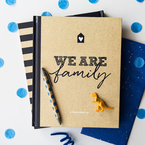 Family Scrapbook And Memory Book