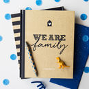 Family Scrapbook, Activity And Memory Book