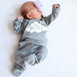 'Little Dreamer' Sleepsuit - nightwear