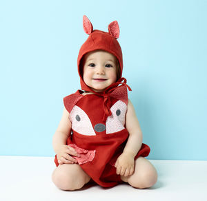 Baby Fox Romper Set