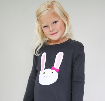 Bunny Top Personalised