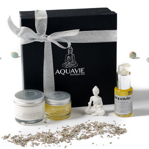 Professional Organic Spa Gift Box - skin care