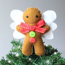 Gingerbread Man Tree Topper