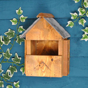 Multi Nester Bird Box With Slate Roof - small animals & wildlife