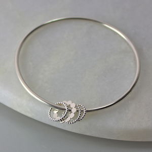 Dotty Charm Bangle