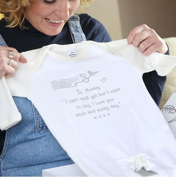 Mum To Be Gift Set, Stork Mail 'From Mummy's Tummy'