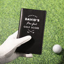 Personalised Golf Score Card Holder