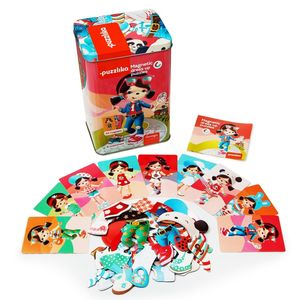 Dress Up The Dolls Magnetic Puzzles By Puzzlika - educational toys