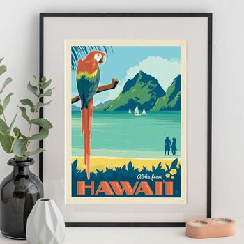 Hawaii Travel Print