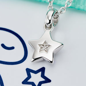 'Kirsty' Diamond Necklace - for children