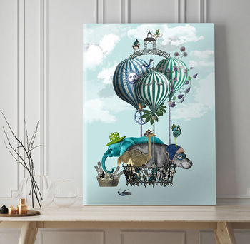 Off To The Races, Fine Art Print