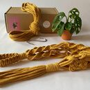 Digital Macrame Plant Hanger Workshop And Craft Kit