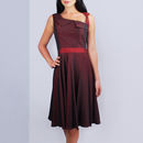 Lydia 50s Style Dress Red