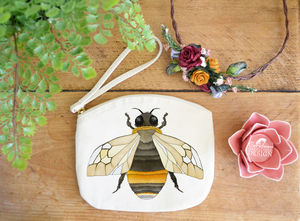 Bee Purse - make-up & wash bags