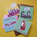 Greetings Card Pack Choice Of Designs