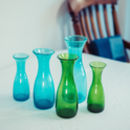 Recycled Bubble Glass 1lt Carafe
