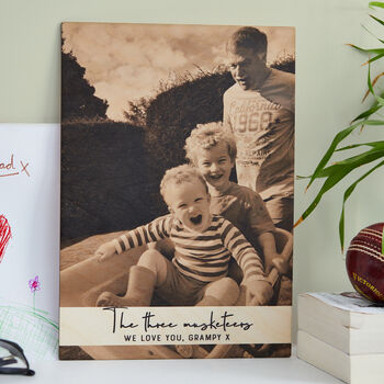 Personalised Favourite Memory Photo Print