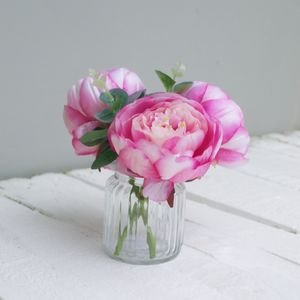 Faux Peony Bouquet - home accessories