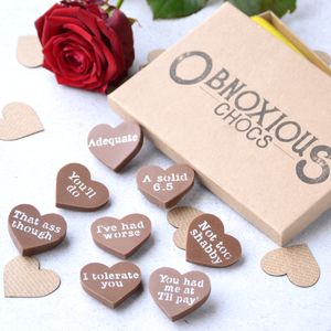 Obnoxious Chocs Valentine's Chocolate Box