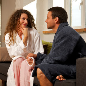 Persoanlised Cotton Towelling Bathrobe - lingerie & nightwear