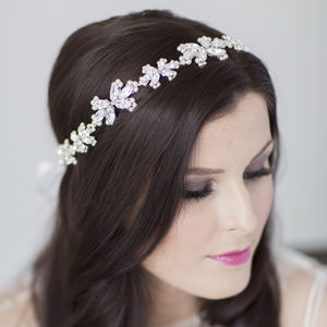 Honour Bridal Halo Headdress - wedding fashion
