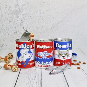 Tin Of Treats For Pets And Their Pet Mothers - pet lover
