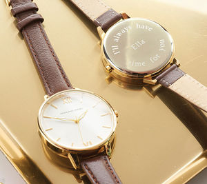 Ladies' Watch With Leather Strap - shop by category
