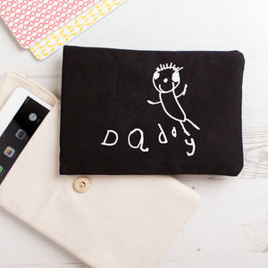 iPad Kindle Case With Your Child's Drawing