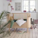 Wooden Baby And Junior Extendable Cot Bed