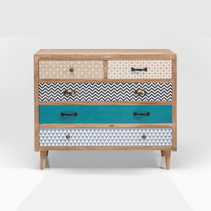 Eclectic Chest Of Drawers - bedroom