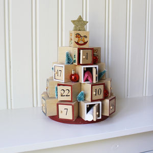 Advent Calendar Box Tree