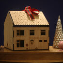 Personalised Christmas Eve Box Wooden House