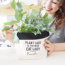 Personalised Canvas Plant Pot Or Storage Bag