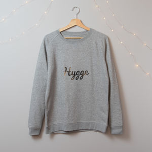 Organic Cotton Hello Wellness Hygge Jumper