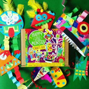 Monster Themed Craft Kit