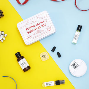Festive Family Survival Pamper Kit - men's grooming & toiletries