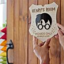 Harry Potter Bedroom Sign