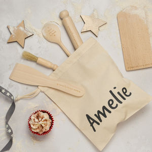 Personalised Kids Baking Set - personalised gifts