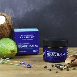 Patchouli And Bergamot Beard Butter 40g - men's grooming