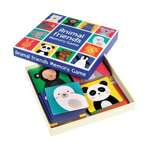 Animal Friends Memory Card Game - toys & games