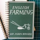 'English Farming' Upcycled Notebook