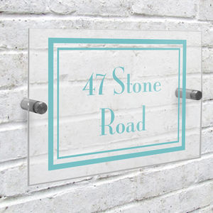 Personalised Acrylic House Sign - decorative accessories