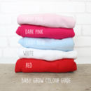 baby grow colours